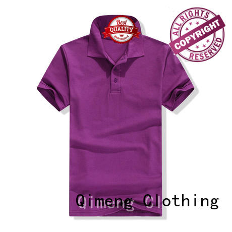 QiMeng blank polo shirts wholesale china producer for outdoor activities
