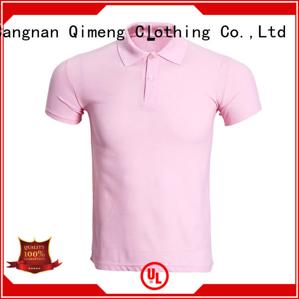 QiMeng promotional polo shirts wholesale china with many colors