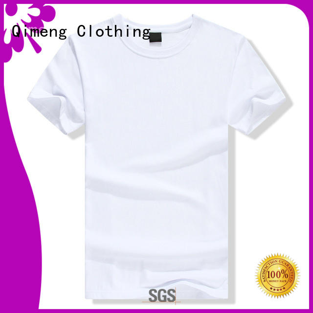 logo t-shirts for women supplier for sports QiMeng