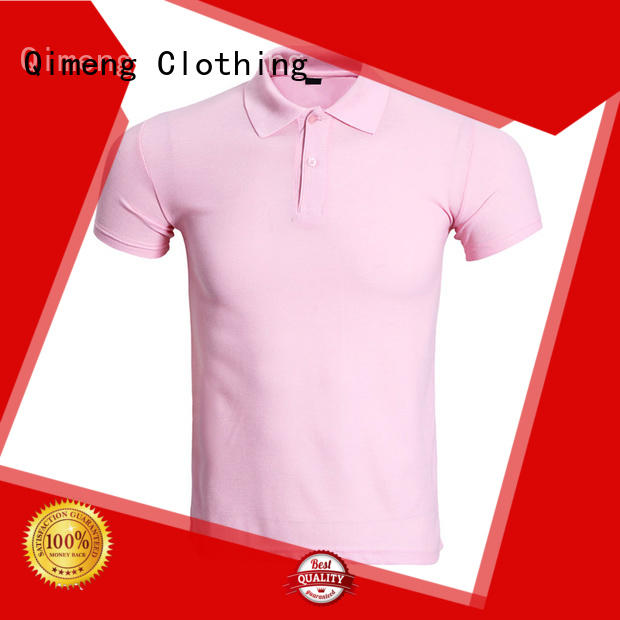 QiMeng nice custom polyester polo shirts from China for business meetings