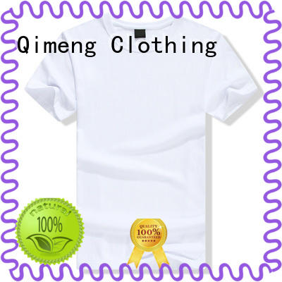 QiMeng tshirt blank t shirts for printing wholesale for team-work