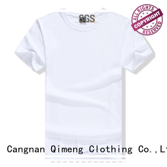QiMeng fine- quality personalized t shirt in different color in street