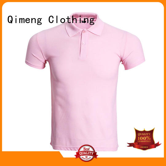 QiMeng style custom polo shirts  for business meetings