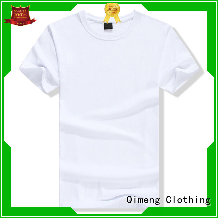 QiMeng fine- quality t shirts for girls blank for outdoor activities