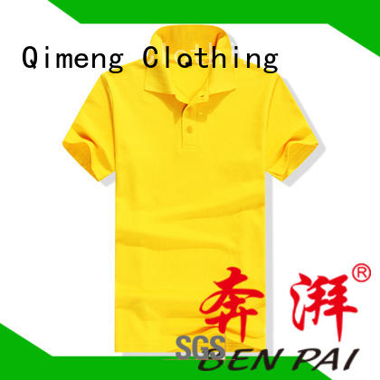 QiMeng cotton wholesale polo shirts wholesale for promotional campaigns