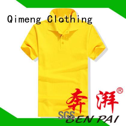 QiMeng cotton wholesale polo shirts wholesale for promotional campaigns