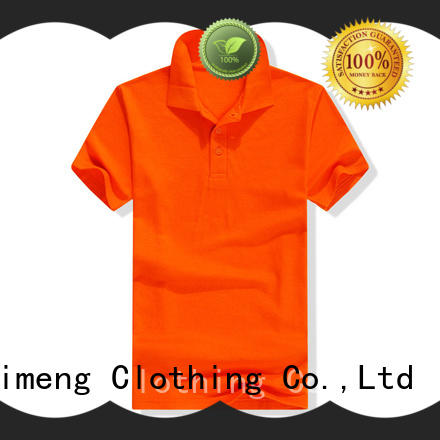 QiMeng nice polo shirt 100% cotton wholesale for daily wear