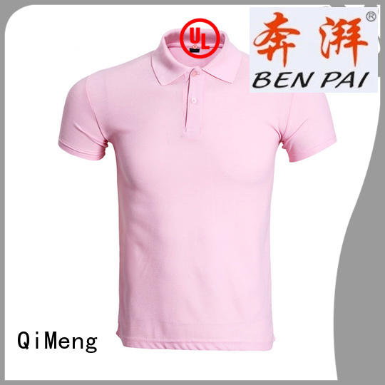 collared polo t shirts from QiMeng