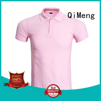 QiMeng excellent polo design shirt for promotional campaigns