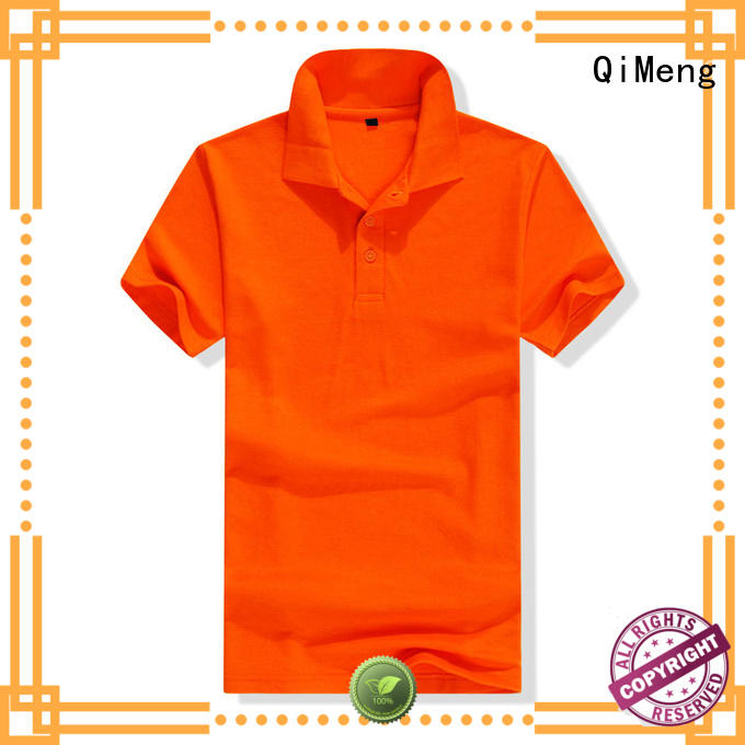 QiMeng excellent promotion polo shirts factory for team-work