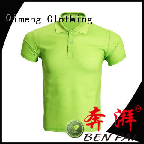 QiMeng first-rate organic cotton polo shirts for business meetings