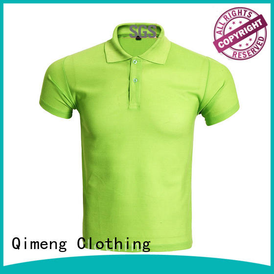 best quality polo shirts factory price for outdoor activities QiMeng