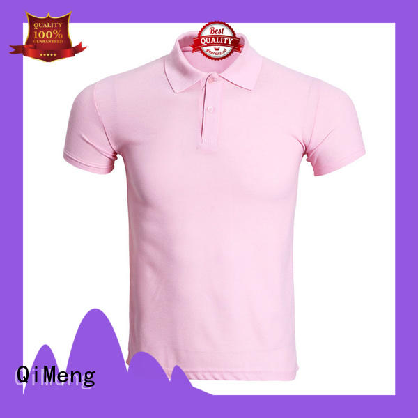 QiMeng inexpensive t-shirts polos  for leisure travel