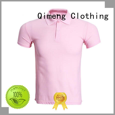 QiMeng promotional polo shirts without logo vendor for promotional campaigns