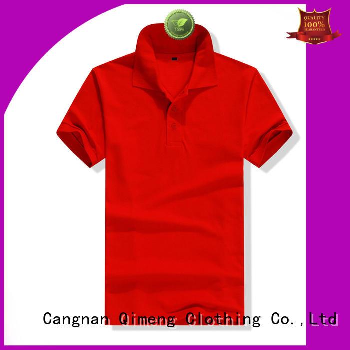 nice custom polyester polo shirts cotton button design for outdoor activities