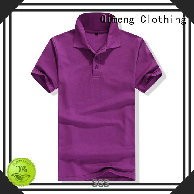 QiMeng excellent men t shirts polo in different color  for business meetings