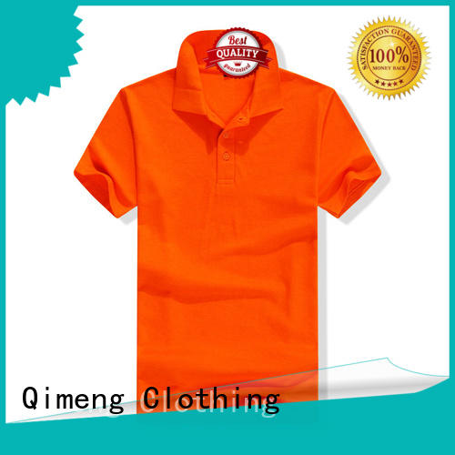 QiMeng promotional polo shirts wholesale china producer  for leisure travel