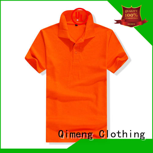 QiMeng clothes polo sport shirts factory for daily wear