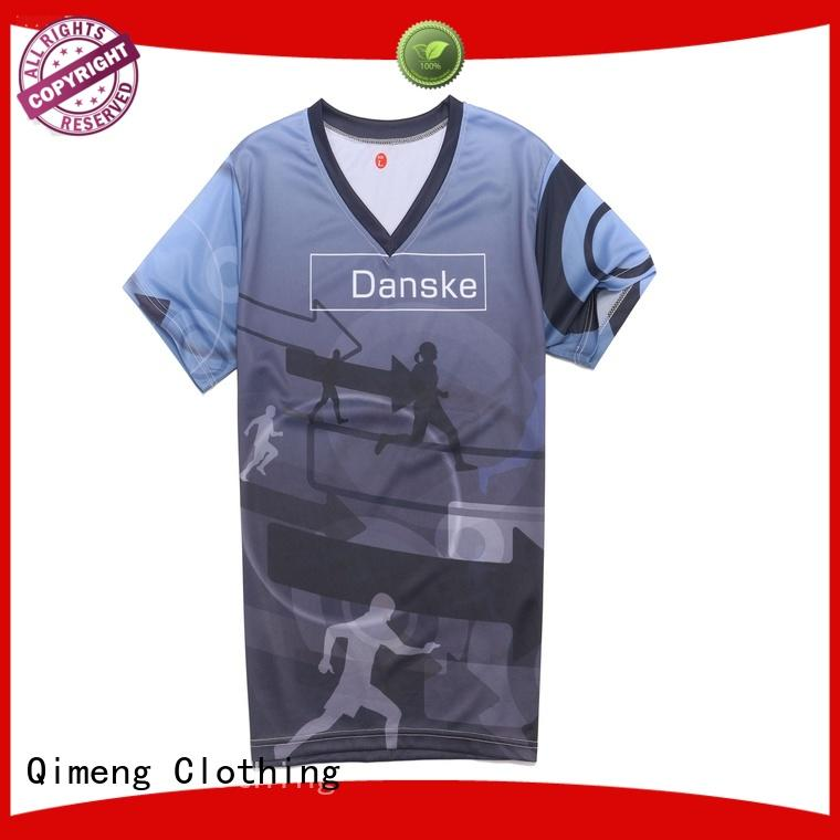 QiMeng logo wholesale t shirt printing experts for promotional campaigns