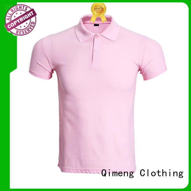 QiMeng polo men t shirts polo with many colors
