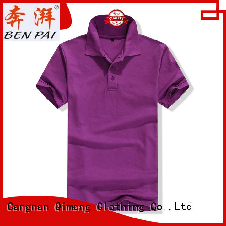 QiMeng first-rate quality polo shirts  manufacturer  for business meetings