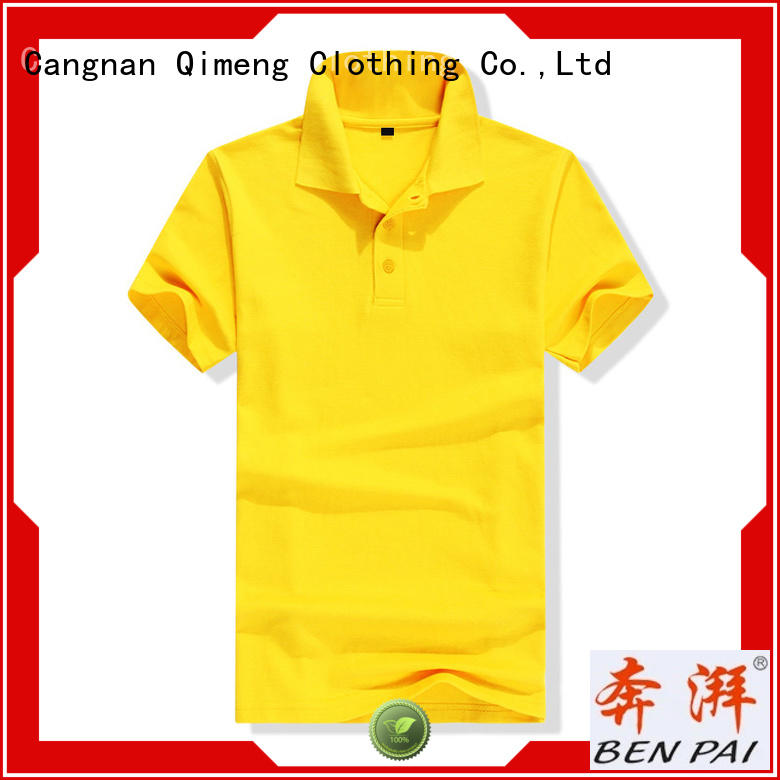 QiMeng first-rate boys polo t shirts sale for outdoor activities