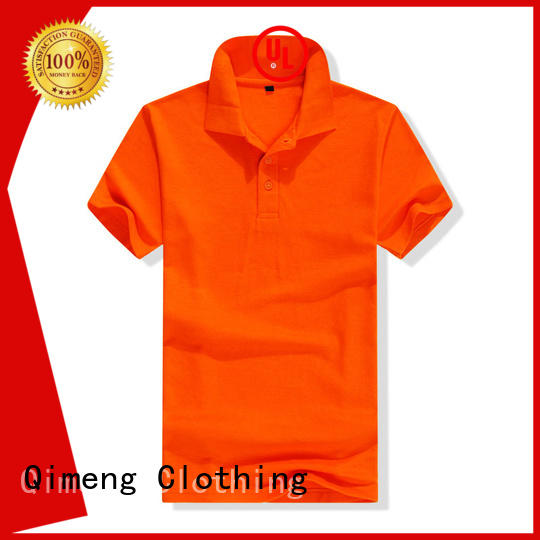 QiMeng polo custom polo shirts vendor for promotional campaigns