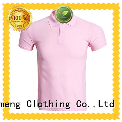 QiMeng many polo shirt 100% cotton button design for promotional campaigns