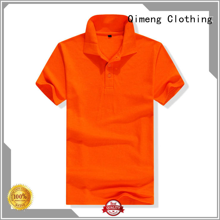 excellent polo t shirts wholesale producer for team-work QiMeng