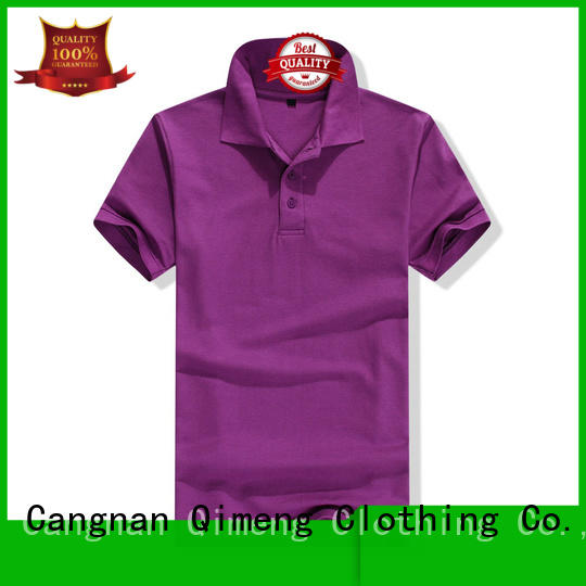 QiMeng promotional youth polo shirts from China for business meetings