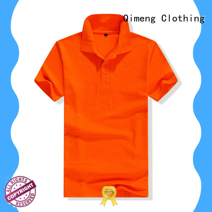 QiMeng excellent wholesale polo shirts directly sale for outdoor activities