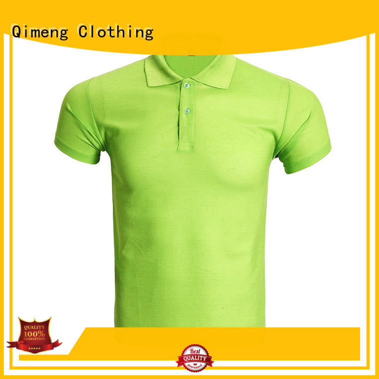 promotional multicolor polo shirts with many colors for outdoor activities QiMeng