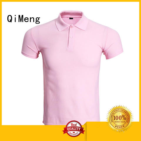 style men t shirts polo in different color for team-work QiMeng