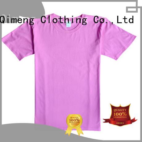 outdoor plain t shirts organic supplier