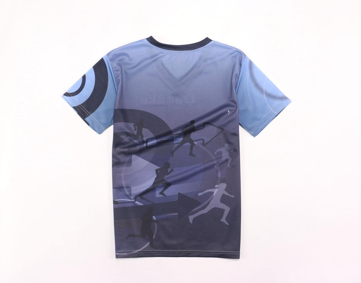 Sublimation v neck tee