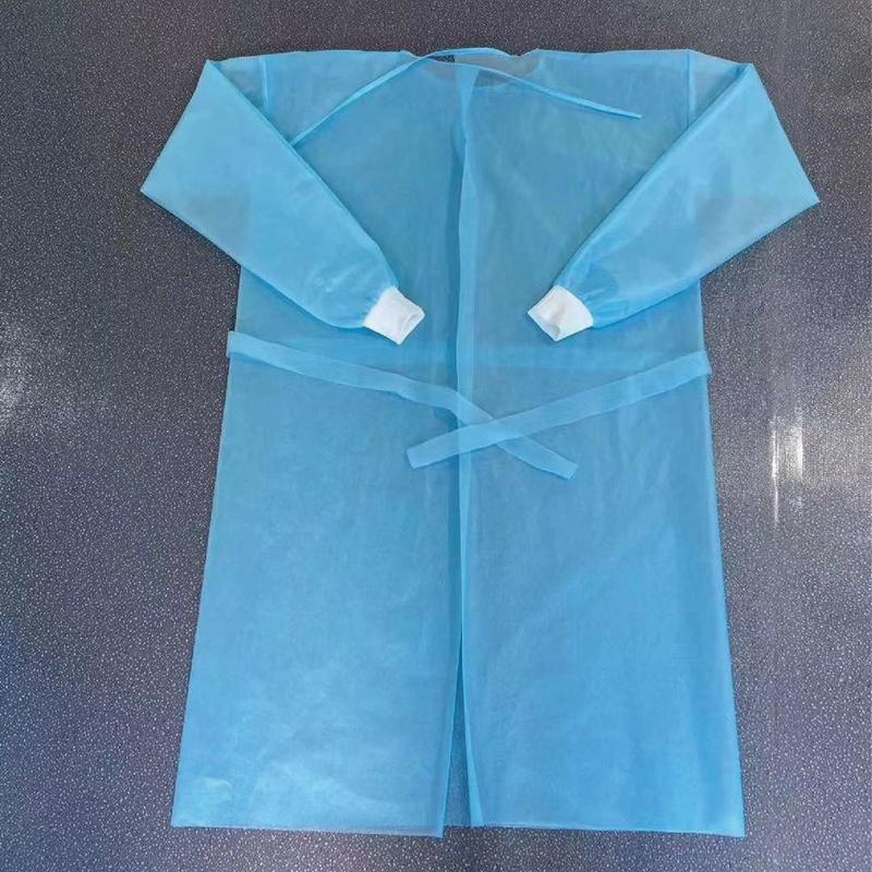 Hospital PE PP Isolation Gown disposable dental gowns