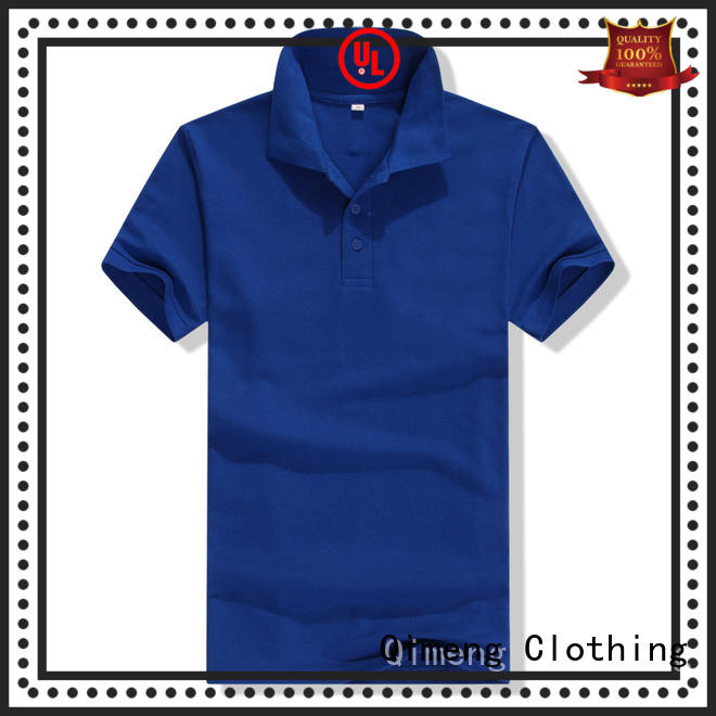 QiMeng inexpensive polo shirts without logo vendor for promotional campaigns