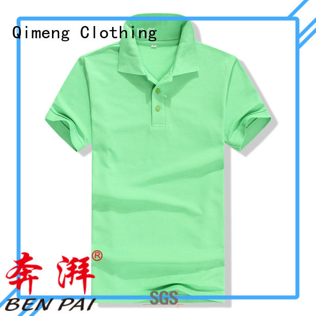 QiMeng newest ladies polo shirts from China for leisure travel