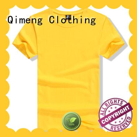 QiMeng shirts custom tee shirts for sporting