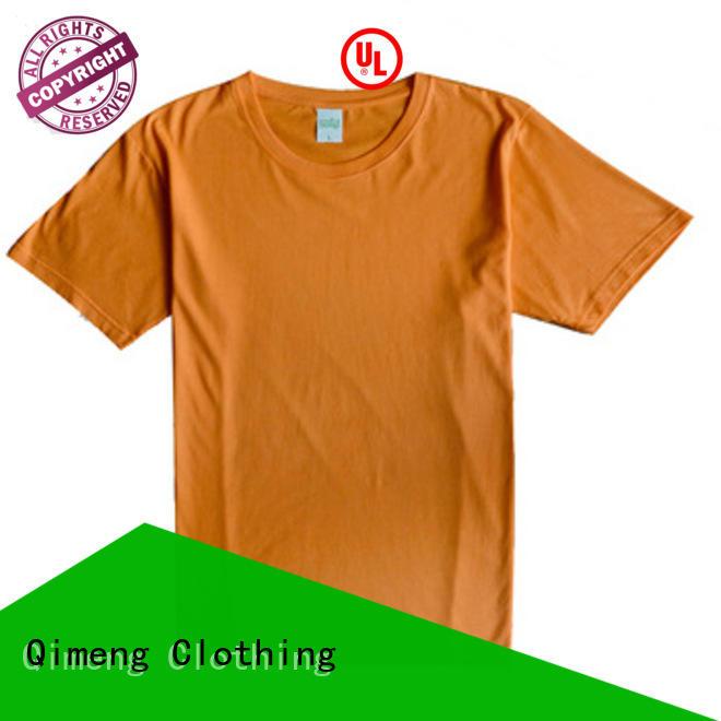 QiMeng tee shirts custom print in China for team-work