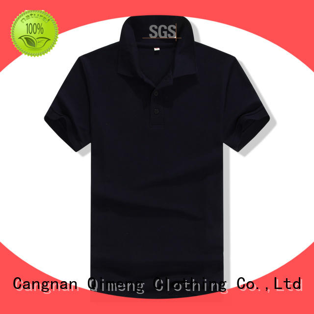 QiMeng first-rate custom logo polo shirt factory price for promotional campaigns