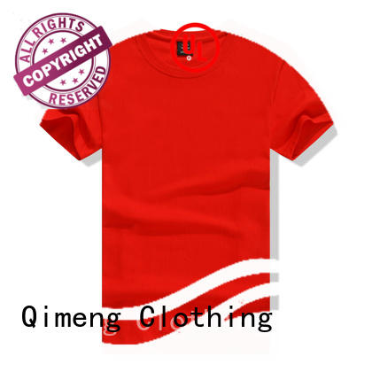 QiMeng blank slim fit t shirt owner in street