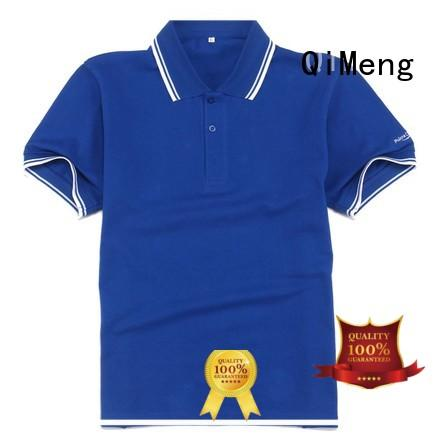 QiMeng hot-selling custom embroidered polo shirts  manufacturer for outdoor activities