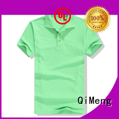 QiMeng hot-selling cotton polo shirts women with many colors for leisure travel