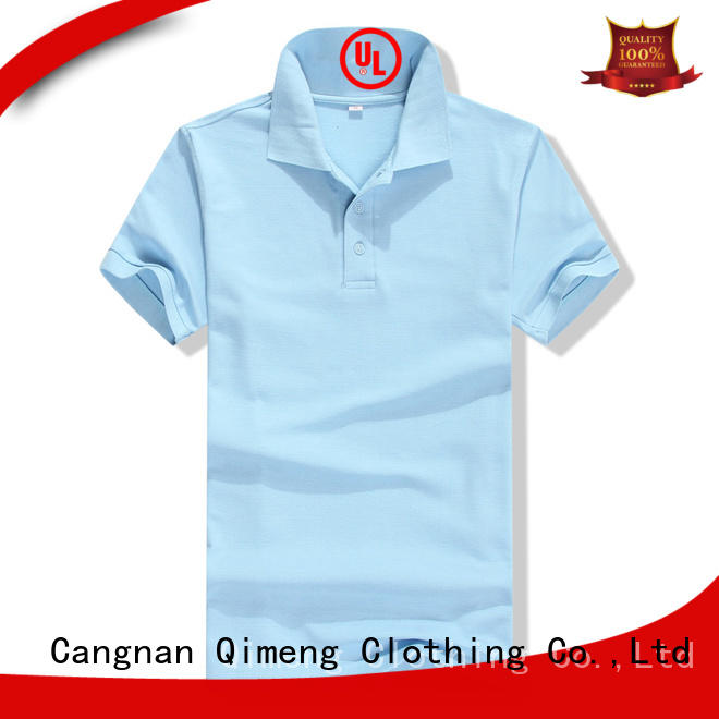 QiMeng excellent youth polo shirts for promotional campaigns