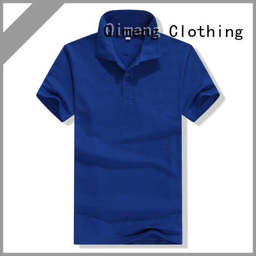QiMeng promotional cotton polo shirts women for team-work