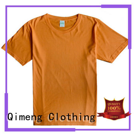 QiMeng oneck screen printed t-shirts experts in street