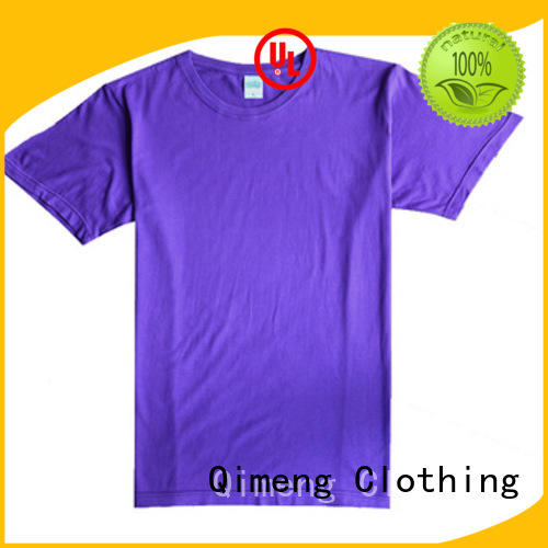 QiMeng blank t shirts for girls owner in street