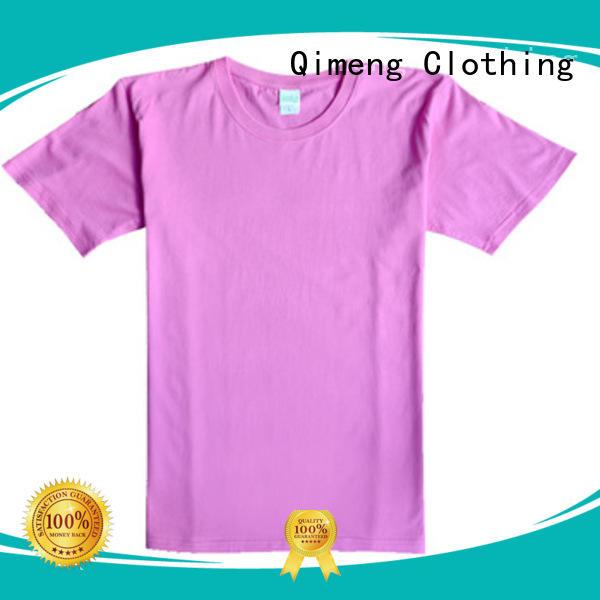 QiMeng tee shirts custom print experts for team-work