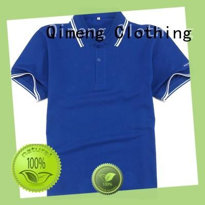 QiMeng polo shirt 100% cotton in different color